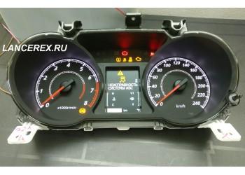 8100C721 цветная панель приборов ASX