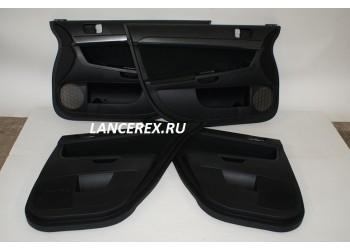 Дверные карты Lancer Evo 10 комплект