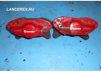 Задние суппорта Brembo Lancer Evo 10
