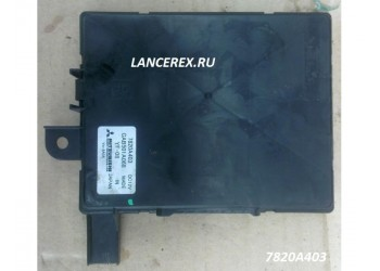 7820A403 блок управления климатом Лансер 10