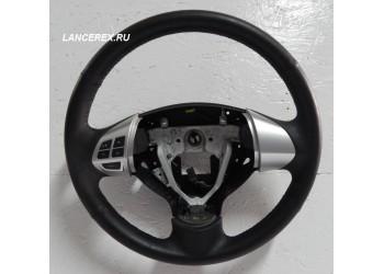 Кожаный руль Лансер 10