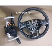Руль Аутлендер 3 с подогревом, подрулевой датчик