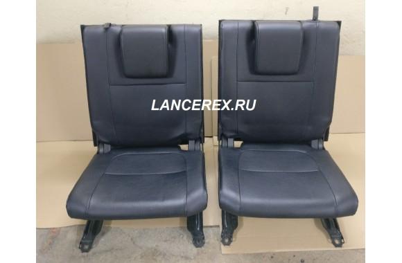 Третий ряд сидений Митсубиси Аутлендер 3 кожа