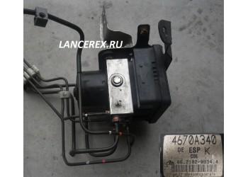 4670A340 блок ABS ESP Outlander 07-12
